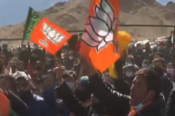 Modi`s BJP wins majority in first polls in new territory of Ladakh