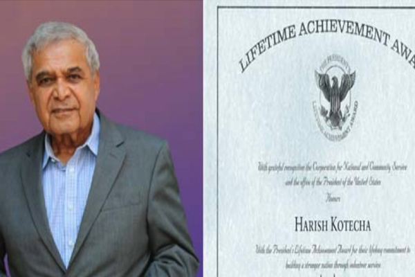 PIO Hindu philanthropist wins US lifetime achievement award